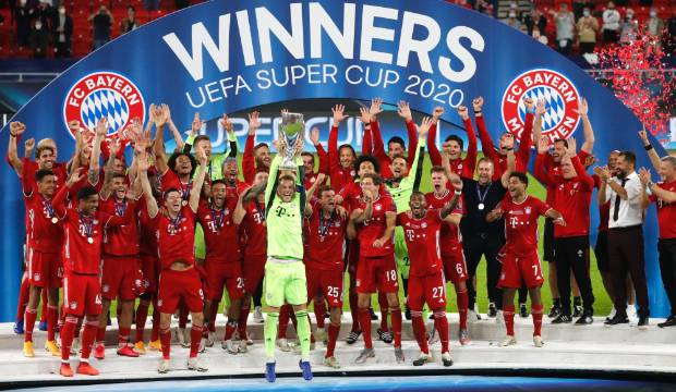 Bayern Munich complete quadruple with Super Cup victory over Sevilla