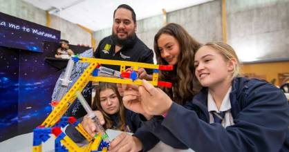 Massey University's Pūhoro STEM Academy was established in 2016 to encourage more Māori into science-related academic fields.