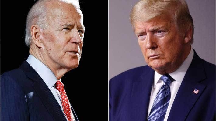Democratic challenger Joe Biden and US President Donald Trump are due to meet in their first debate in a presidential election year marked by extraordinary turmoil.