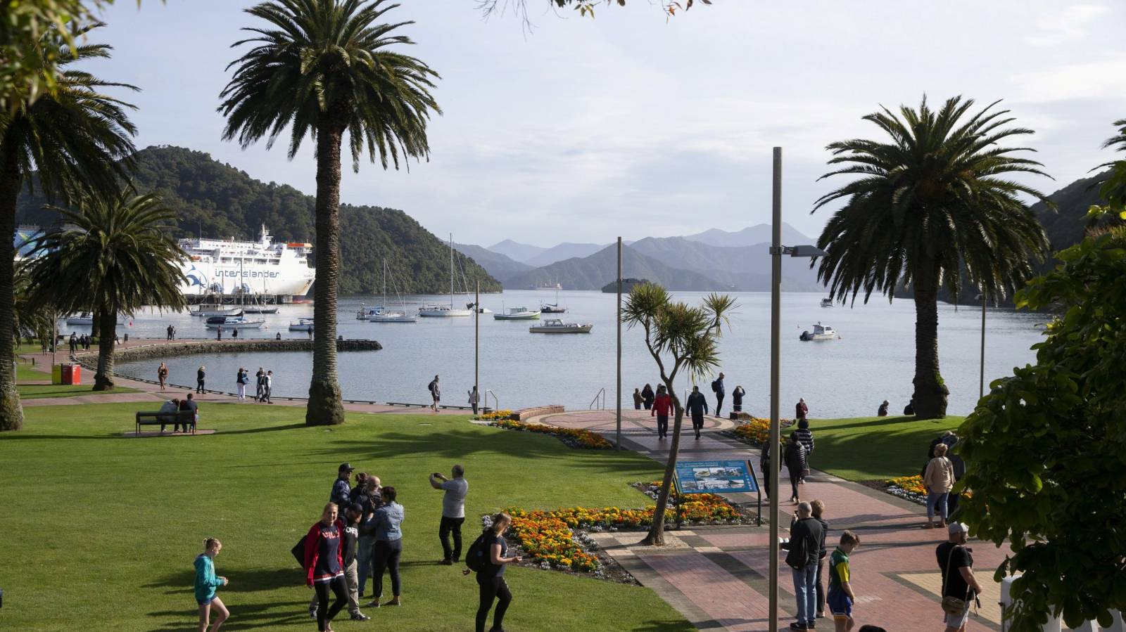 With cruise ships gone, the quiet turns to disquiet as Picton plans its future
