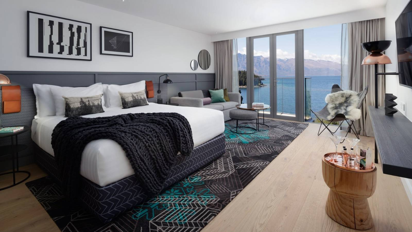 QT Queenstown: Boutique luxury hotel is quirky and modern