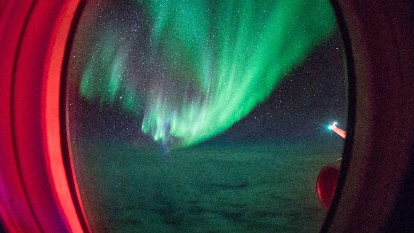 Win two seats on the flight to see the Southern Lights