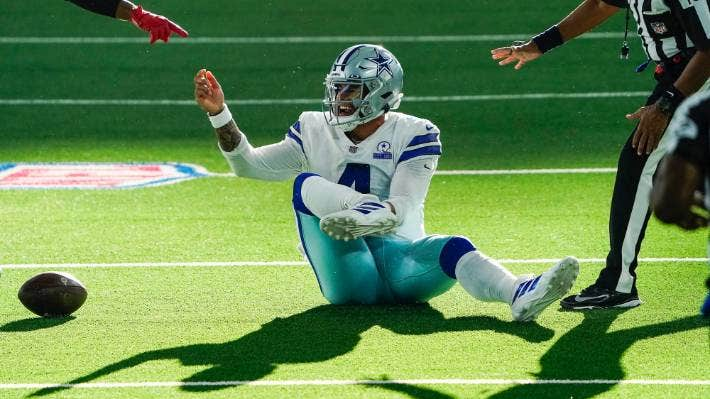 Dallas Cowboys Quarterback Dak Prescott Suffers Gruesome Lower Leg Injury Stuff Co Nz