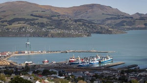 First ship of the season arrives at Lyttelton's new cruise berth