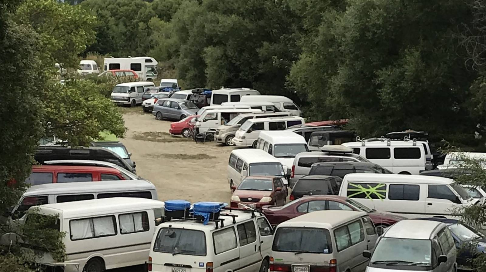 Freedom camping sites culled