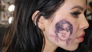 Kiwi singer was 'down to prank the world' with fake facial tattoo