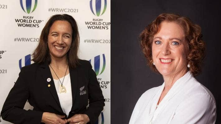 Dr Farah Palmer and Jennifer Kerr are the only women on the New Zealand Rugby board