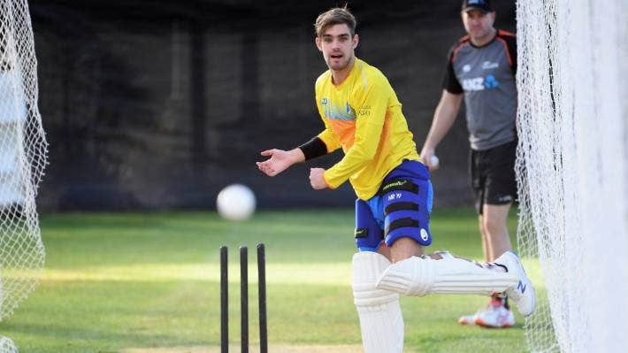 Otago allrounder Michael Rippon was summoned to the Black Caps winter training camps.