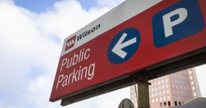 Wilson Parking says the Covid lockdown halved its parking revenue in April.