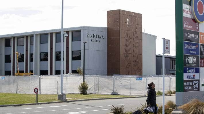 Christchurch's Sudima Hotel is a managed isolation and quarantine facility near Christchurch Airport.