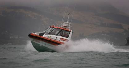 Coastguard volunteers responded to a fatal boating incident near Kaiapoi in North Canterbury. (File photo)