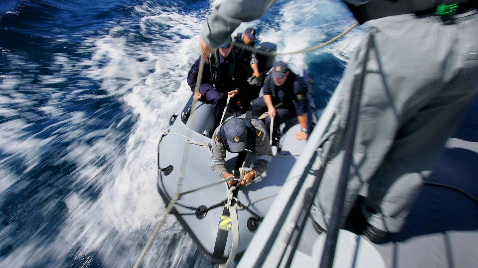 Sailor seriously injured when dragged through water as 'punishment'