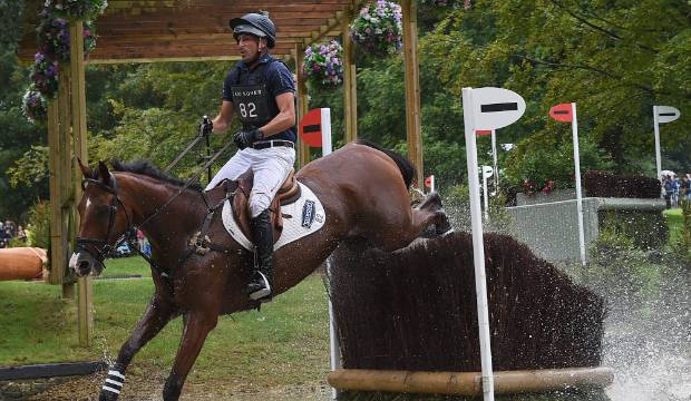 Tim Price finishes third in the Stars of Pau equestrian event