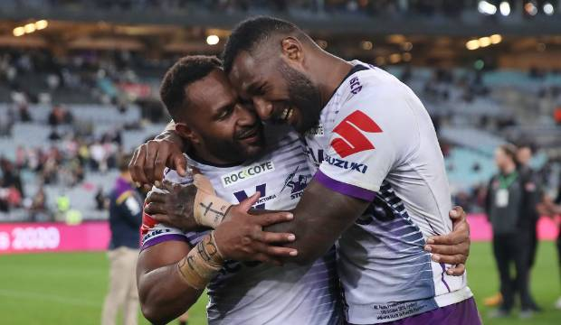 Melbourne Storm's grand final hero Suliasi Vunivalu wants Wallabies jersey in 2021