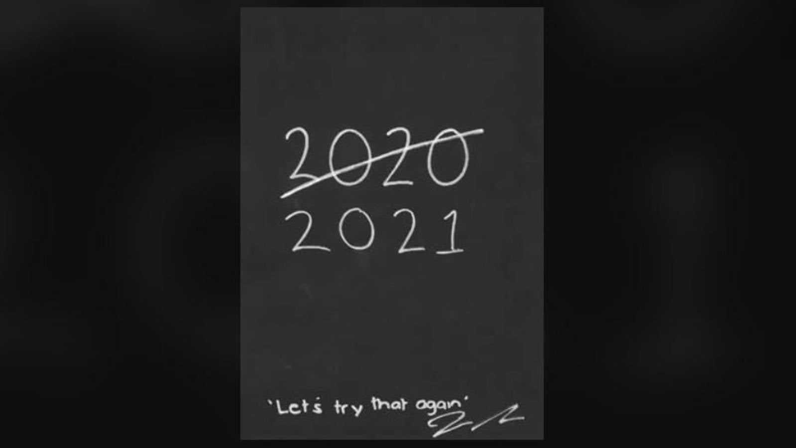 Jacinda Ardern's arty take on 2020