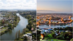 Hamilton and Whanganui tie for most beautiful city in New Zealand