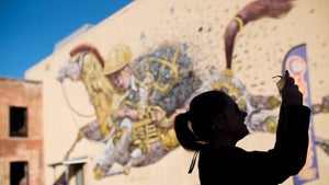 Exploring Dunedin's street art