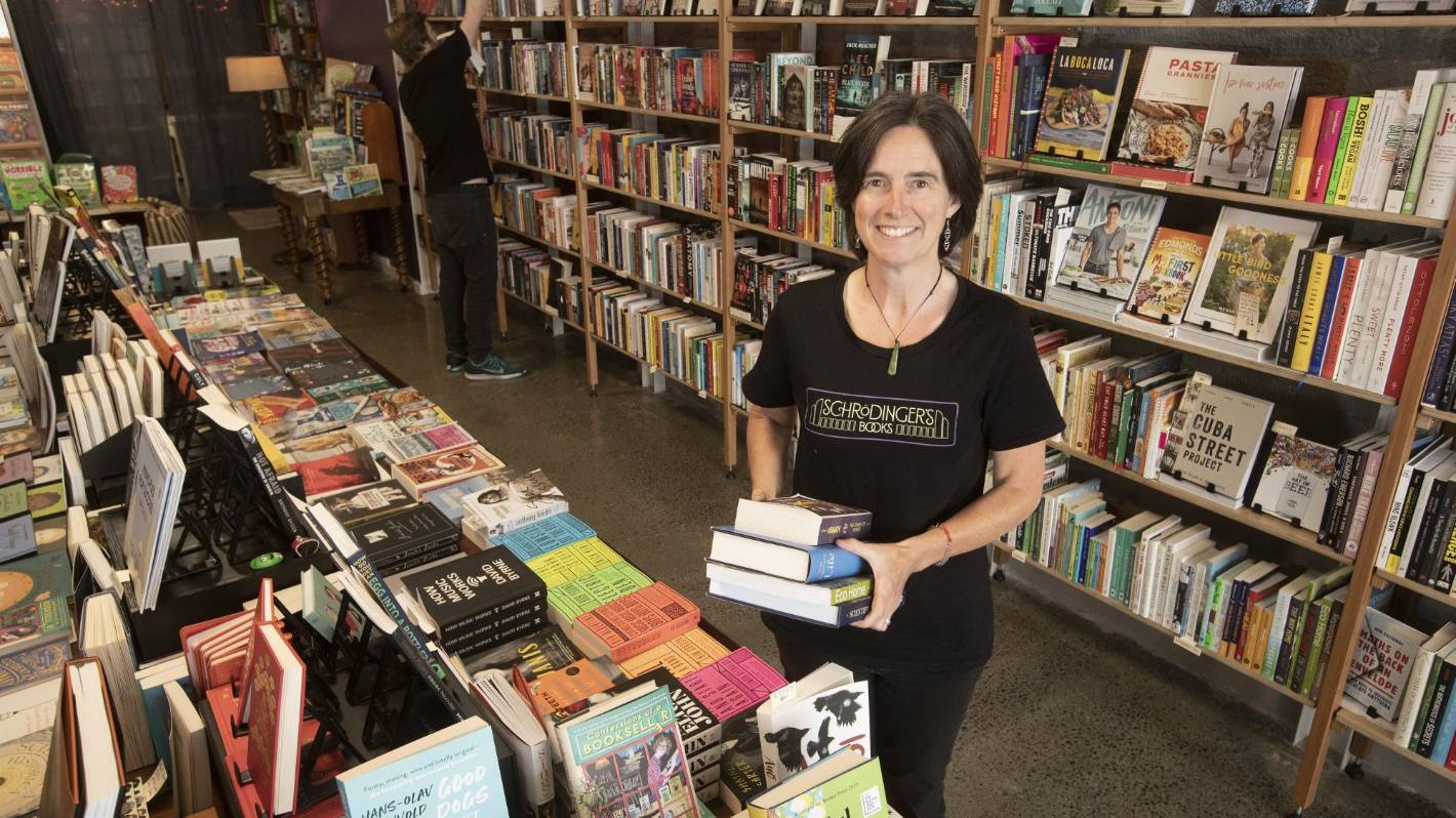 'Preposterously busy' bookshop gets benefit of local ...