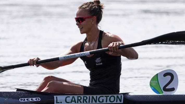 Lisa Carrington (Te Aitanga-a-Māhaki, Ngāti Porou) is a double Olympic Games canoeing gold medallist.