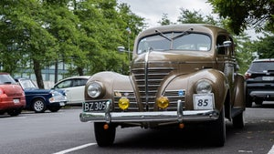 Vintage car enthusiasts gather for annual rally