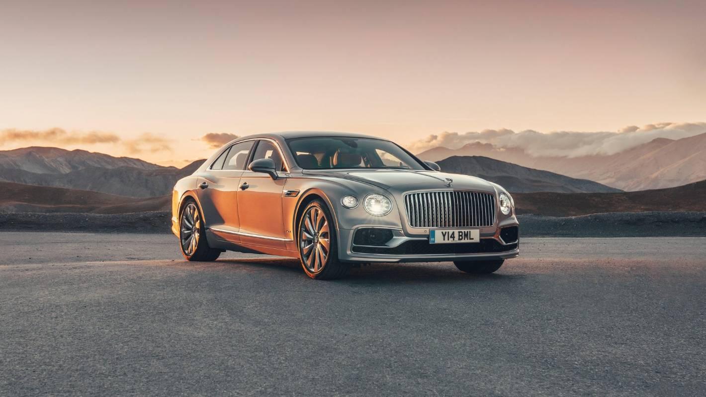 Top Luxury Car Bentley Flying Spur Stuff Co Nz