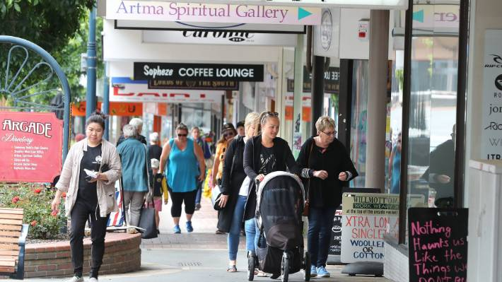 Consumer spending in the Timaru District was up 6 per cent in the September quarter compared to 2019.