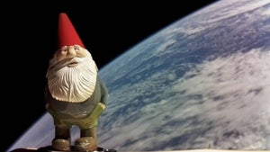 Why did this gnome go to space?