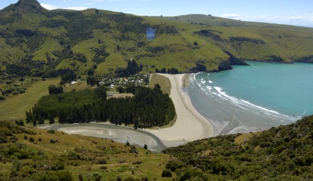 Old dump spilling into Banks Peninsula river will be removed