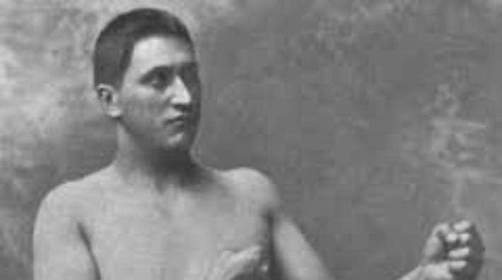 Herbert Slade, the New Zealand boxer, who challenged for the world heavyweight title in 1883.