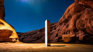 The men who say they removed the monolith