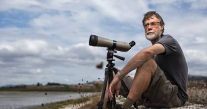 Pūkorokoro Miranda Shorebird Centre manager Keith Woodley has a different bubble from the rest of New Zealand.