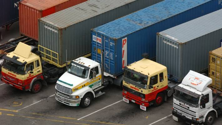 The diversion of Constantinos P from Ports of Auckland to Northport will result in 2700 extra container truck trips, National Road Carriers says. (File photo)
