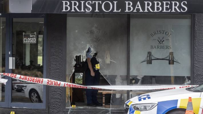 Bristol Barbers in Wainoni was set alight for the first time on February 14.