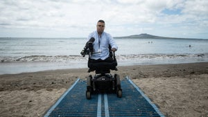 We need beach access for everyone, and that includes people with a disability