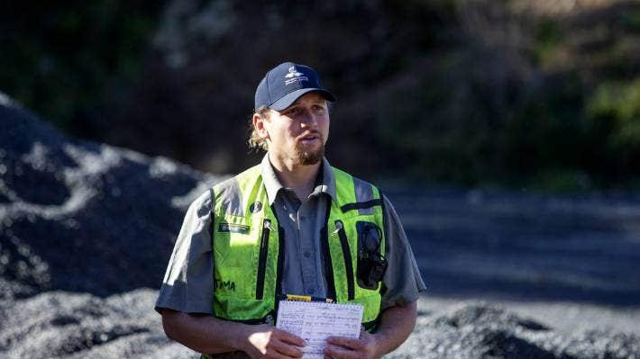 Tama Blackburn is a DOC ranger, who is involved in the predator free programme known as Taranaki Mounga. (File Photo)