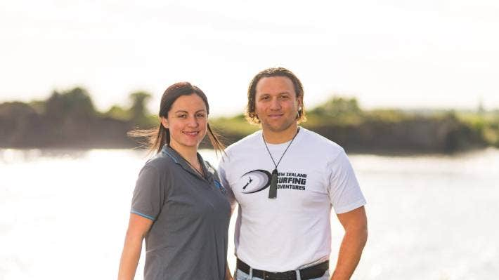 Nau Mai Tours owner and operators Gina and Tama Blackburn are excited about the cultural opportunities the pending settlement will bring. (File Photo)