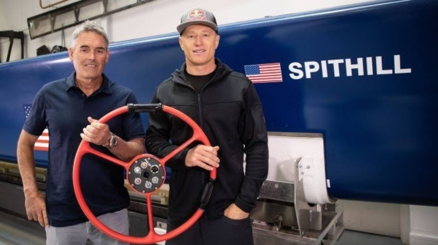 Image Sir Russell Coutts and Jimmy Spithill team up again