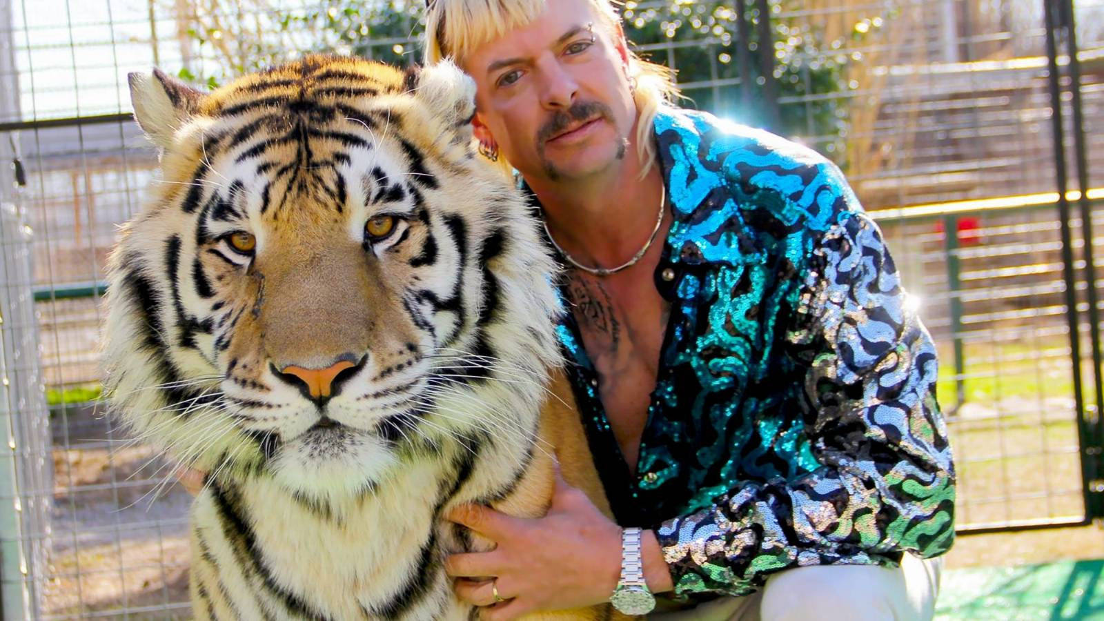 Joe Exotic remains behind bars