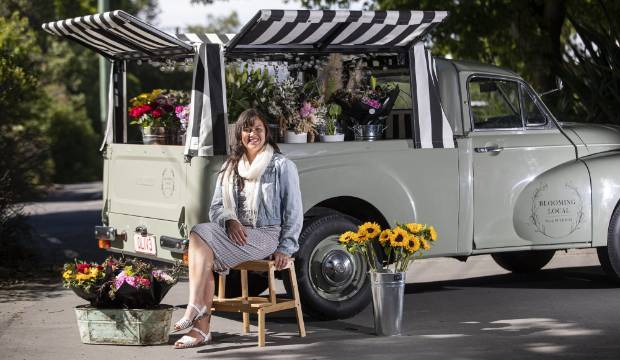 Florist's love of nature helped her through cancer