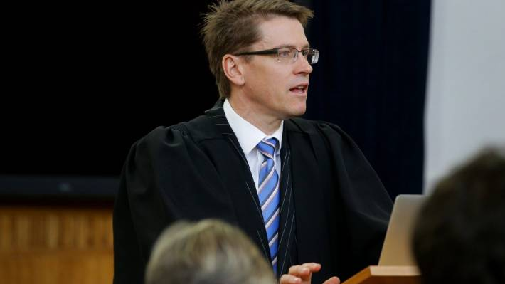 Barrister Robert Stewart, who represented Stuff in court, argued suppressing Parker's name -because of his notoriety - could erode public confidence of the justice system.