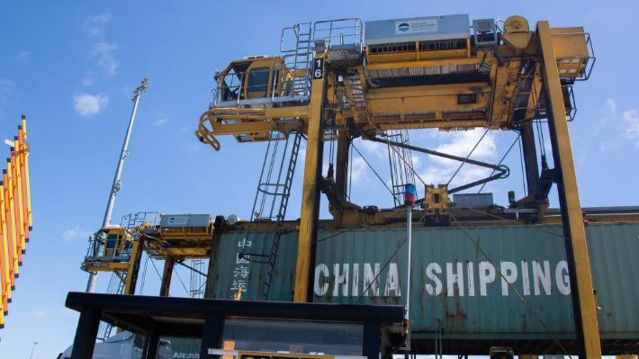 Key trading partners like China and the US connect New Zealand to a string of other ports around the world.