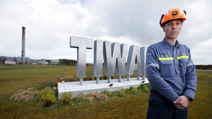 New Zealand Aluminium Smelter (NZAS) Tiwai Point Smelter chief executive Stew Hamilton.
