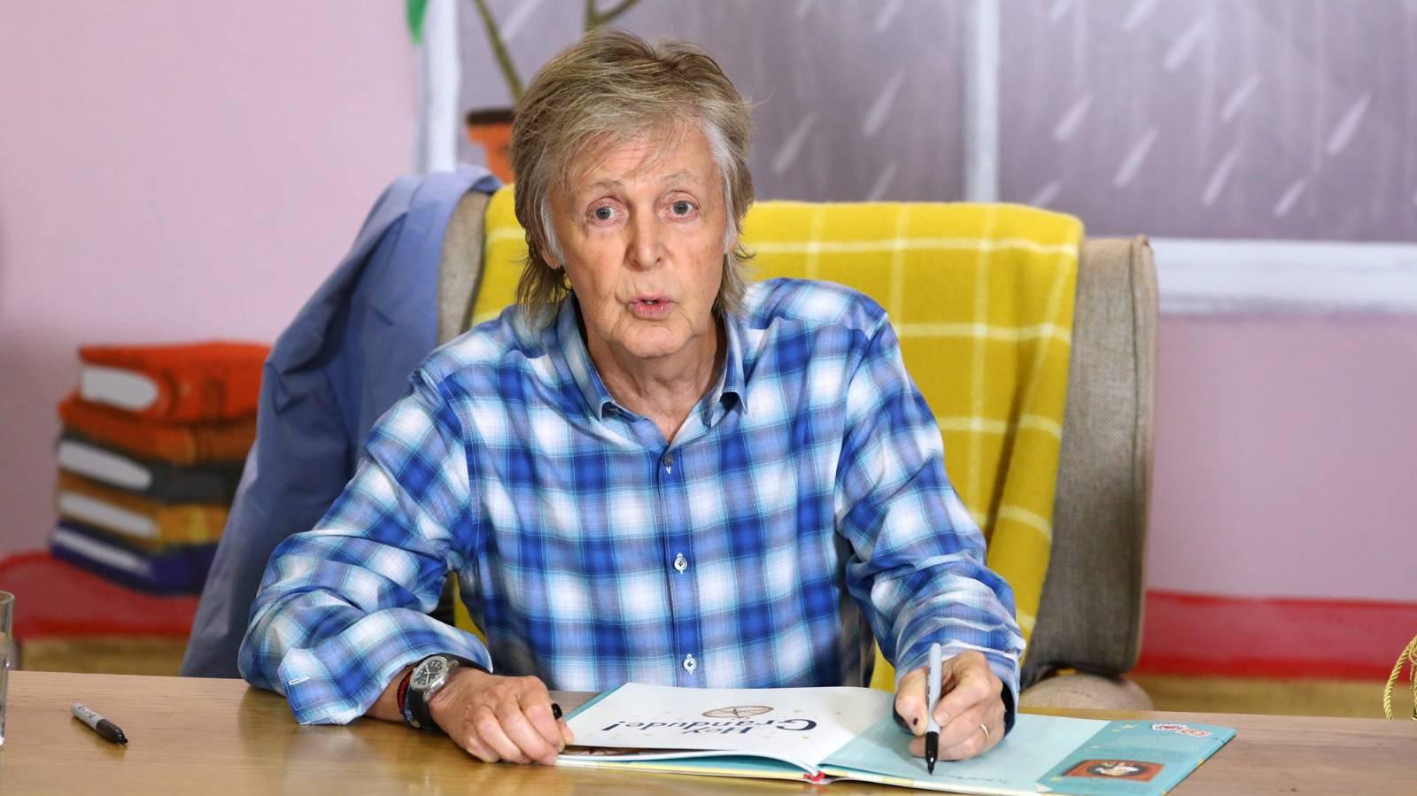 Roll up! Paul McCartney's anti-aging eye yoga