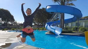 Fun times at the Ōhope Beach Top 10 Holiday Park