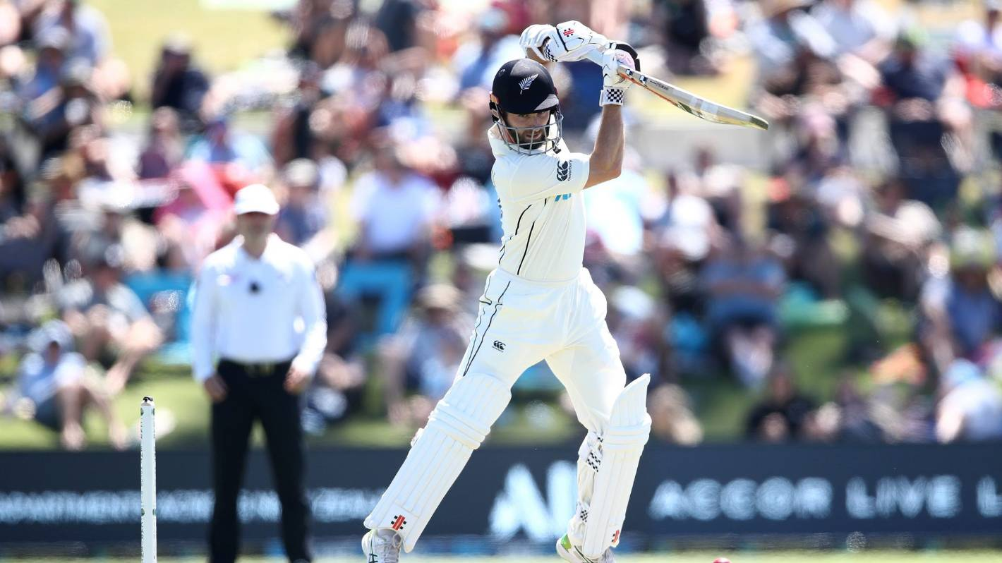 Black Caps vs Pakistan: Kane Williamson leads fightback on slow day at Bay Oval