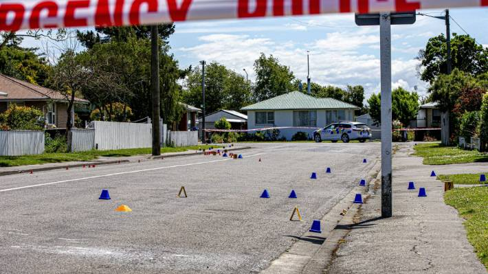 Mongrel Mob member Fairmont Joseph Wiringi is one of the victims of the shooting in Kaiapoi.