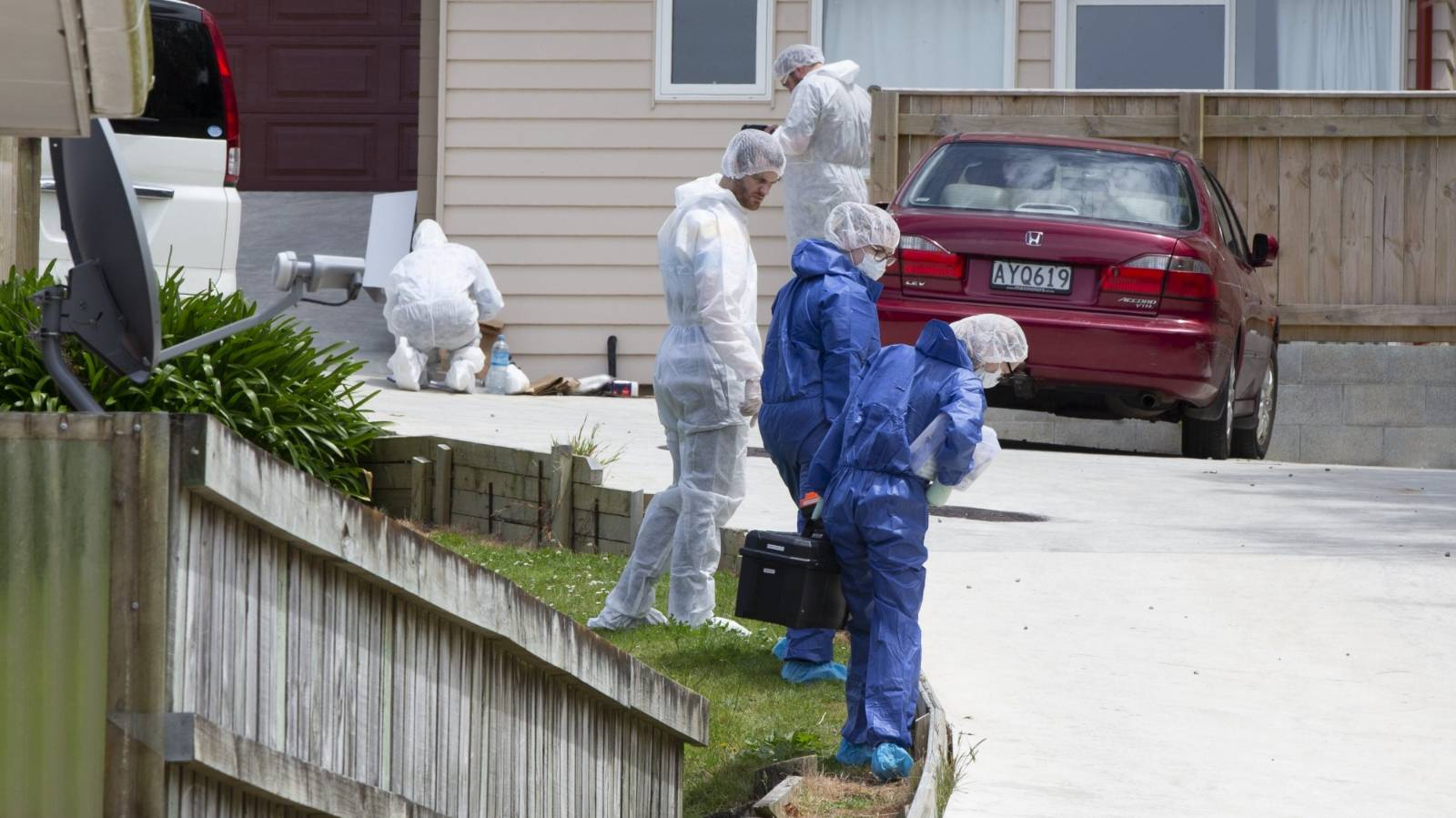 Three women charged in Wellington murder probe