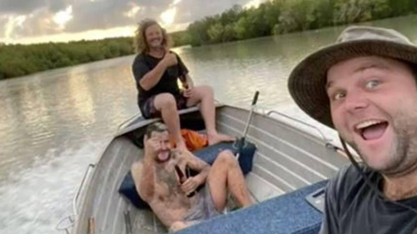 Naked fugitive found in croc-infested mangroves by Australian fishermen