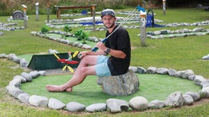 Tour company goes all Field of Dreams with 'epic' mini-golf course