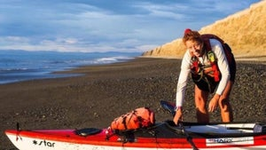 Meet 'Red' Paterson, the woman who kayaked around NZ